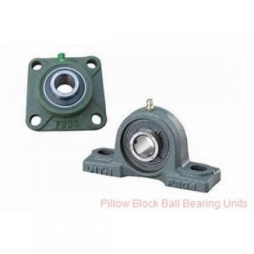 1.0000 in x 4-1/4 to 5 in x 1.34 in  Dodge P2BSCM100 Pillow Block Ball Bearing Units