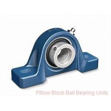 2.4375 in x 7-1/2 to 8-1/2 in x 2.54 in  Dodge P2BSCM207-NL Pillow Block Ball Bearing Units