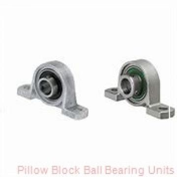 1.0000 in x 3.68 to 4-1/2 in x 1.34 in  Dodge P2BSCEZ100SHCR Pillow Block Ball Bearing Units